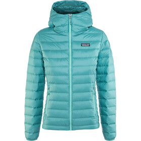 Patagonia W's Down Sweater Hoody Beryl Green